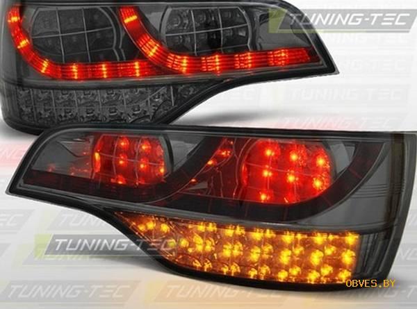 Задние фонари led для audi q7 (хром)